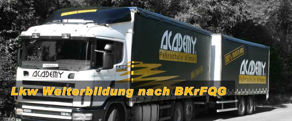 Lkw Weiterbildung nach BKrFQG